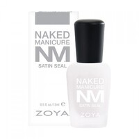Naked Manicure Satin Seal Top Coat 15mL by Zoya Nail Polish